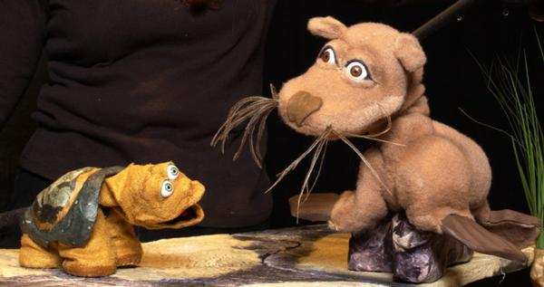 Galapagos George Puppet Show at Bay Street Theater