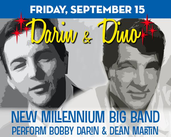 Darin & Dino: ft. New Millennium Big Band at The Suffolk Theater