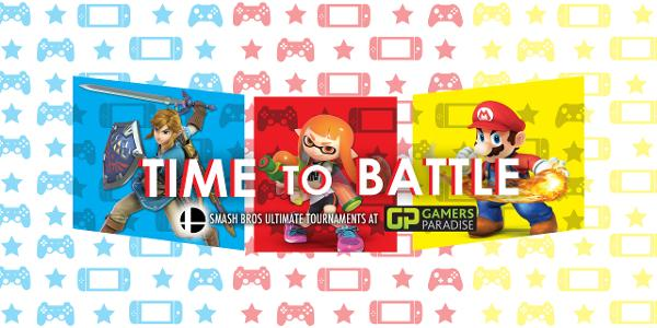 Smash Ultimate Youth Tournament at Gamers Paradise - Rochelle Park