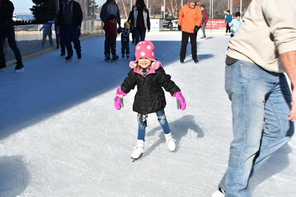 Public Skating Sessions at The Rinx at Harborfront Park