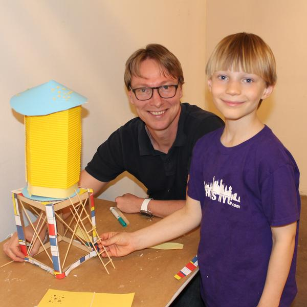 FamilyDay@theCenter: Wonderful Water Towers at Center for Architecture