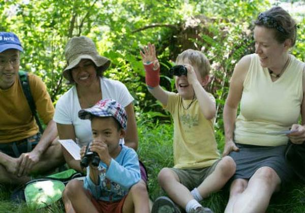 Discovery Walks for Families: Beginning Birders at Central Park