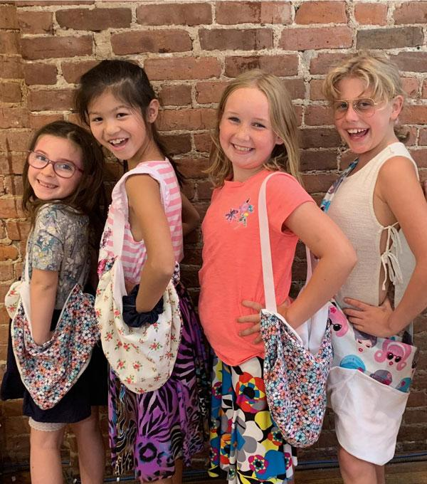 Mid-Winter Recess Fashion Design and Sewing Camp for Kids at The Fashion Class