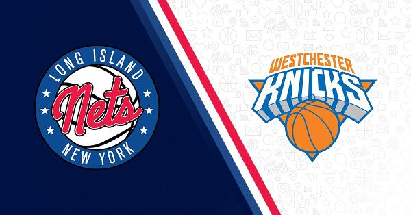 Long Island Nets vs. Westchester Knicks at NYCB LIVE