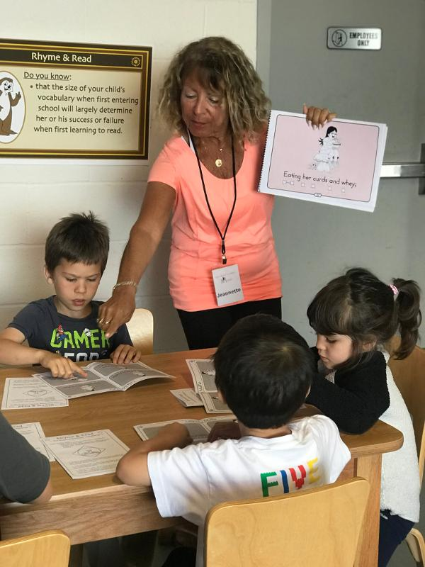 Rhyme & Read at Westchester Children's Museum