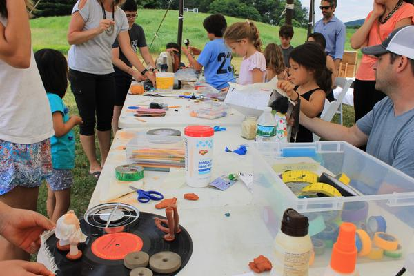 Children and Families: Constructing Curiosities at Storm King Art Center