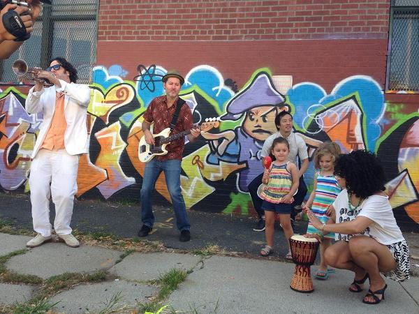 Kids Concert & Dance Party: Boogaloo Familia at Southampton Arts Center