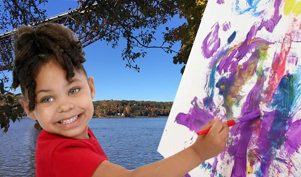 Paint in the Park at Mid-Hudson Children's Museum