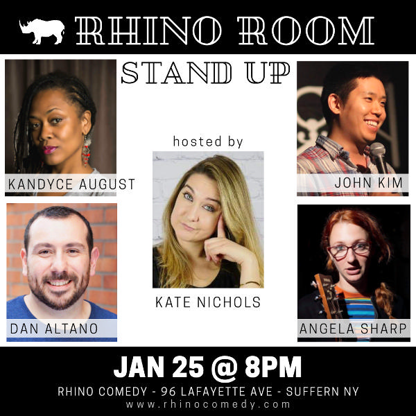 Rhino Room Stand Up at Rhino Comedy