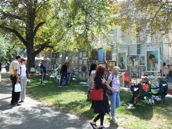 67th Annual Fence Show at Snug Harbor Cultural Center and Botanical Garden, Building A