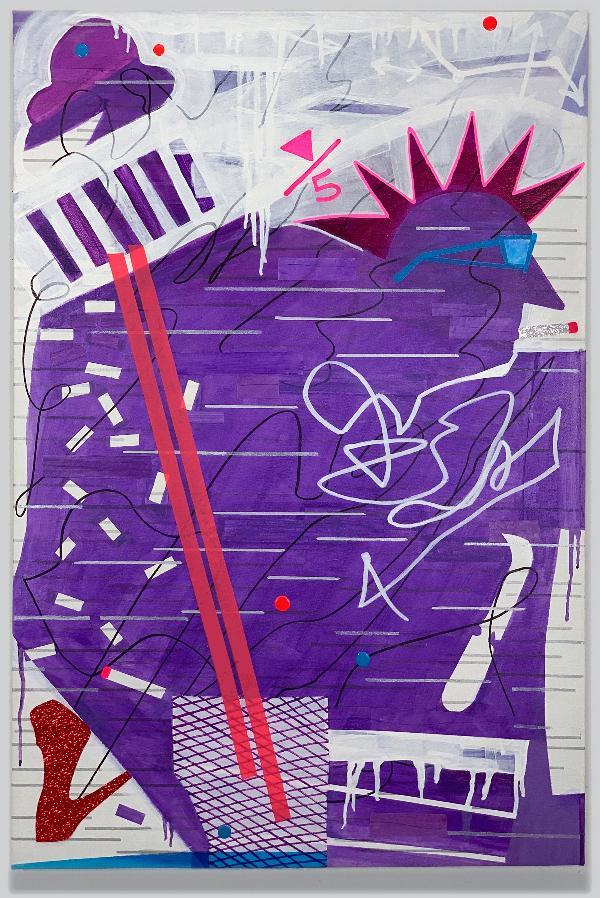 Art Exhibition: Joan Reutershan, BKNY Street View at One River School of Art + Design