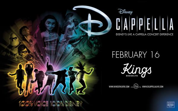 Disney's DCappella at Kings Theatre
