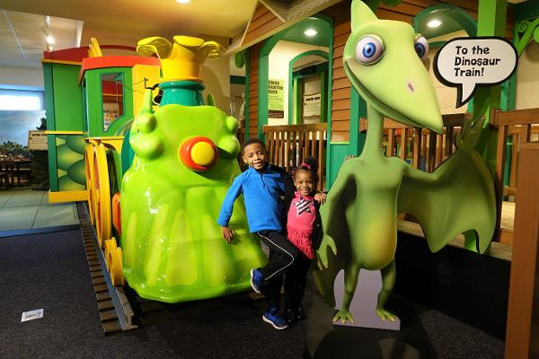 Dinosaur Train: The Traveling Exhibit at Liberty Science Center