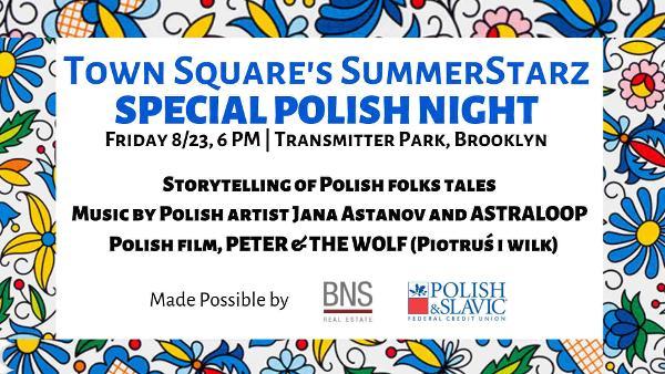 SummerStarz NEW POLISH NIGHT at Transmitter Park