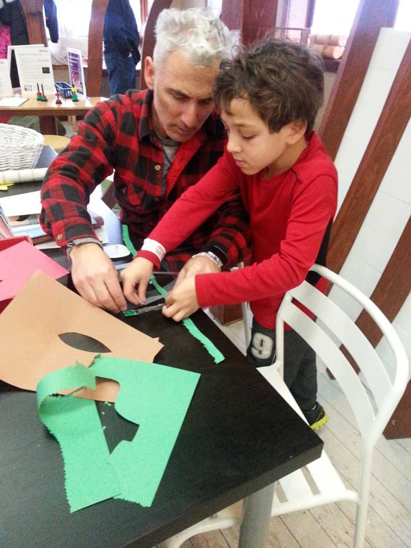 Groundhog Day Shadow Puppetry at Maritime Explorium