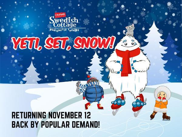 Yeti, Set, Snow! at Swedish Cottage Marionette Theatre