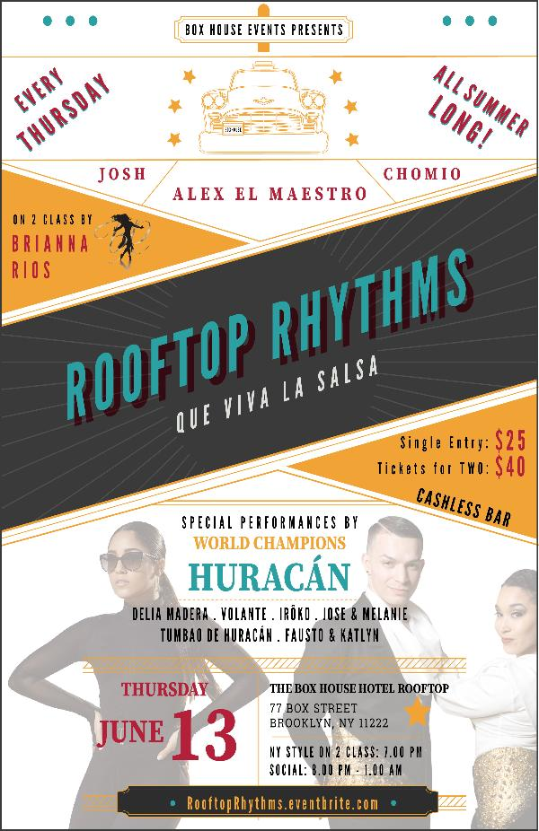Rooftop Rhythms at The Box House Hotel in Brooklyn at The Box House Hotel