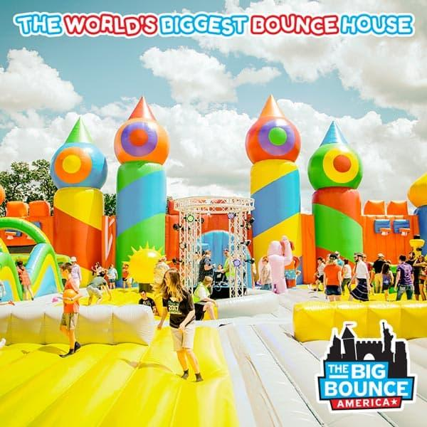 The Big Bounce America at Cousins Paintball