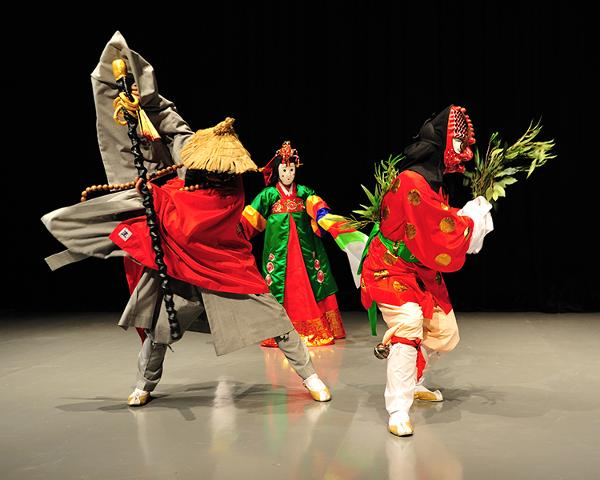 Bongsan Talchum: Korean Mask Dance at Flushing Town Hall