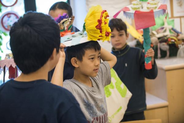 Family Art Project: Swamp Spectacles and Marsh Marvels at Wave Hill