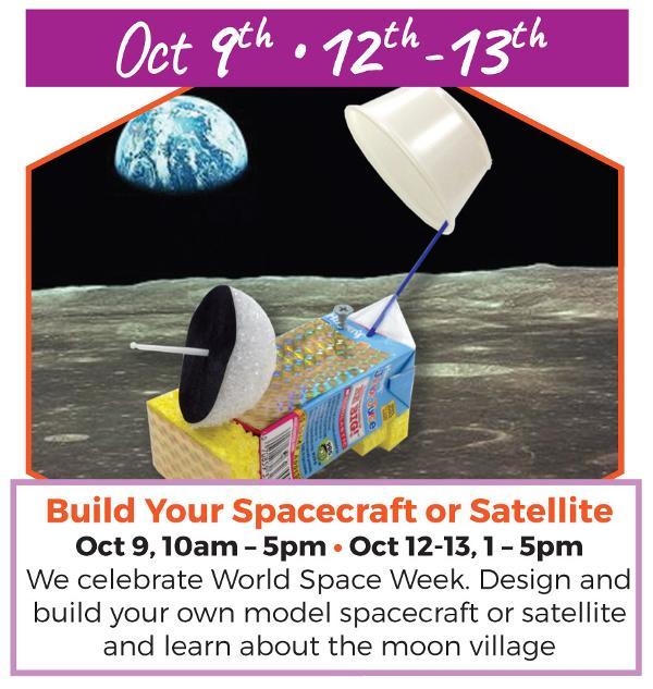 World Space Week at Long Island Explorium