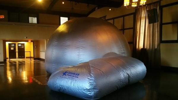 Celestial Weekend: Starlab Indoor Planetarium at Sands Point Preserve