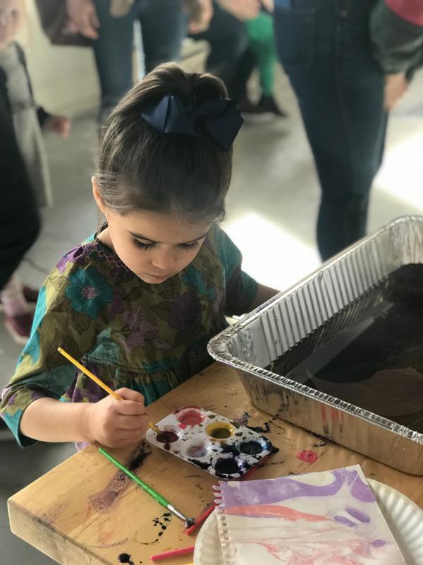 First Saturday Art Workshop at Westchester Children's Museum