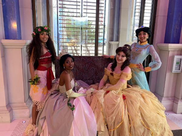 Princess Tea Party at Long Island Aquarium