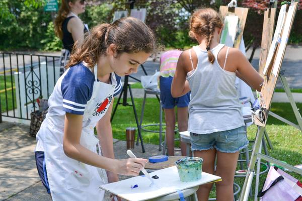 Plein-Air Painting Workshop at The Rye Arts Center