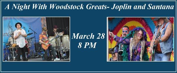 A Night With Woodstock Greats- Joplin and Santana at Paramount Hudson Valley