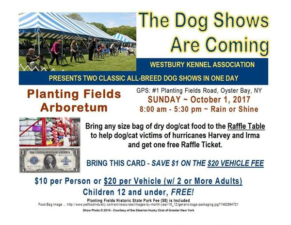 Dog Show: 85th Anniversary Event at Planting Fields Arborteum State Historic Park