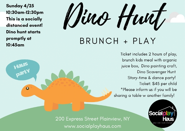 Dino Brunch at Social Play Haus