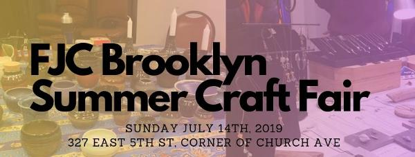 FJC Summer Craft Fair & Crafting Workshops at Flatbush Jewish Center