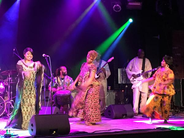 Global Mashup #3: Mexico meets Guinea at Flushing Town Hall