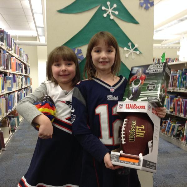 Super Bowl Saturday at Emma Clark Library