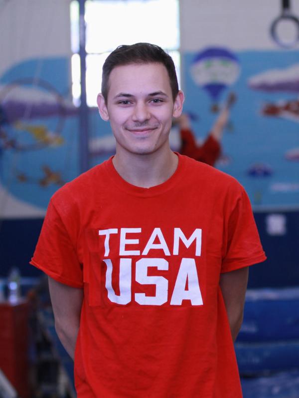 Josh Ward Fundraiser for Pediatric Brain Cancer at World Cup Gymnastics