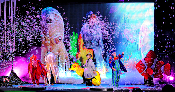 'B-The Underwater Bubble Show' at Bergen Performing Arts Center
