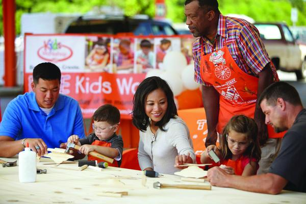 Workshop for Kids at The Home Depot