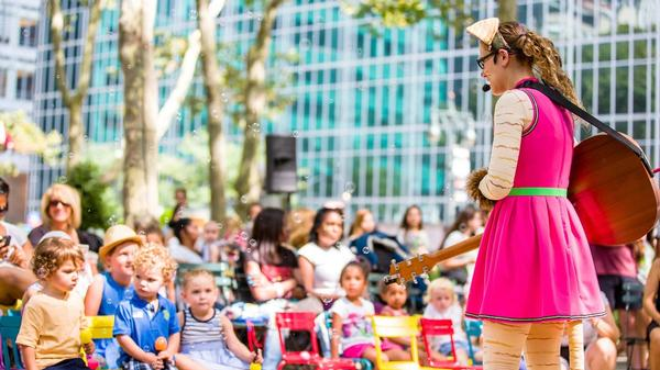 Read-to-Skate Storytime at Bryant Park