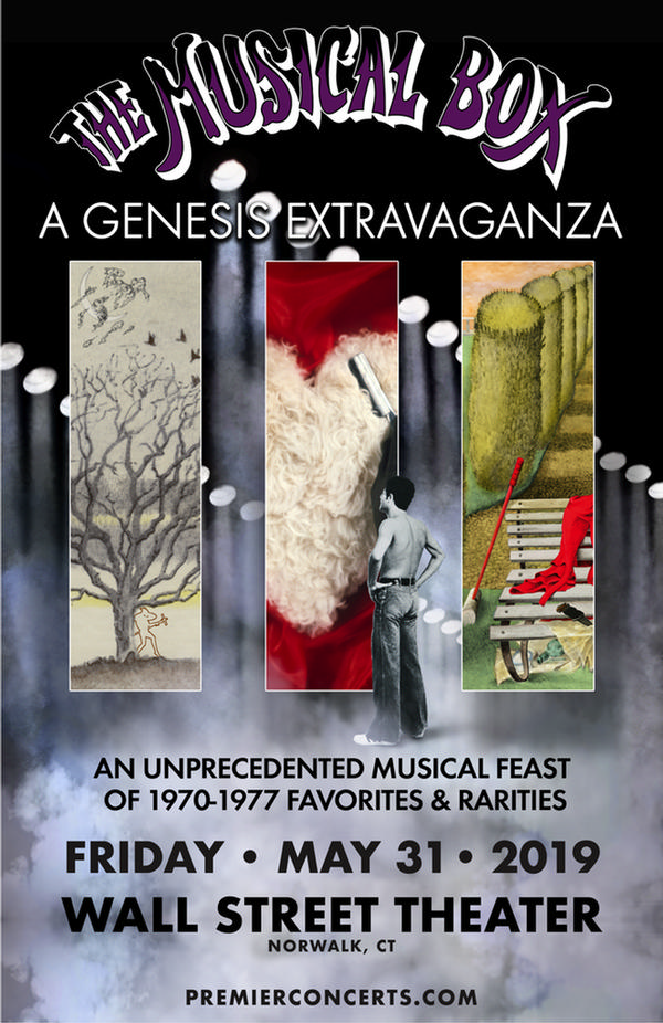 The Musical Box A Genesis Extravaganza at Wall Street Theater
