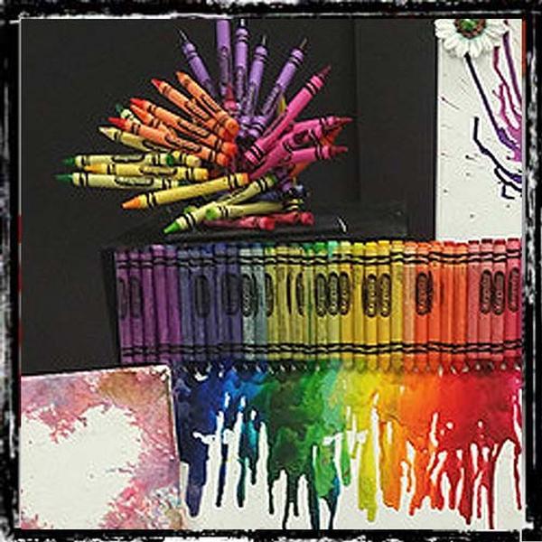 Crayon Workshop at Picasso Kidz