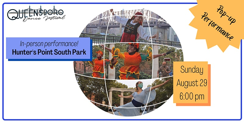 Queensboro Dance Festival Pop Up Event at Hunter's Point South Park in Long Island City