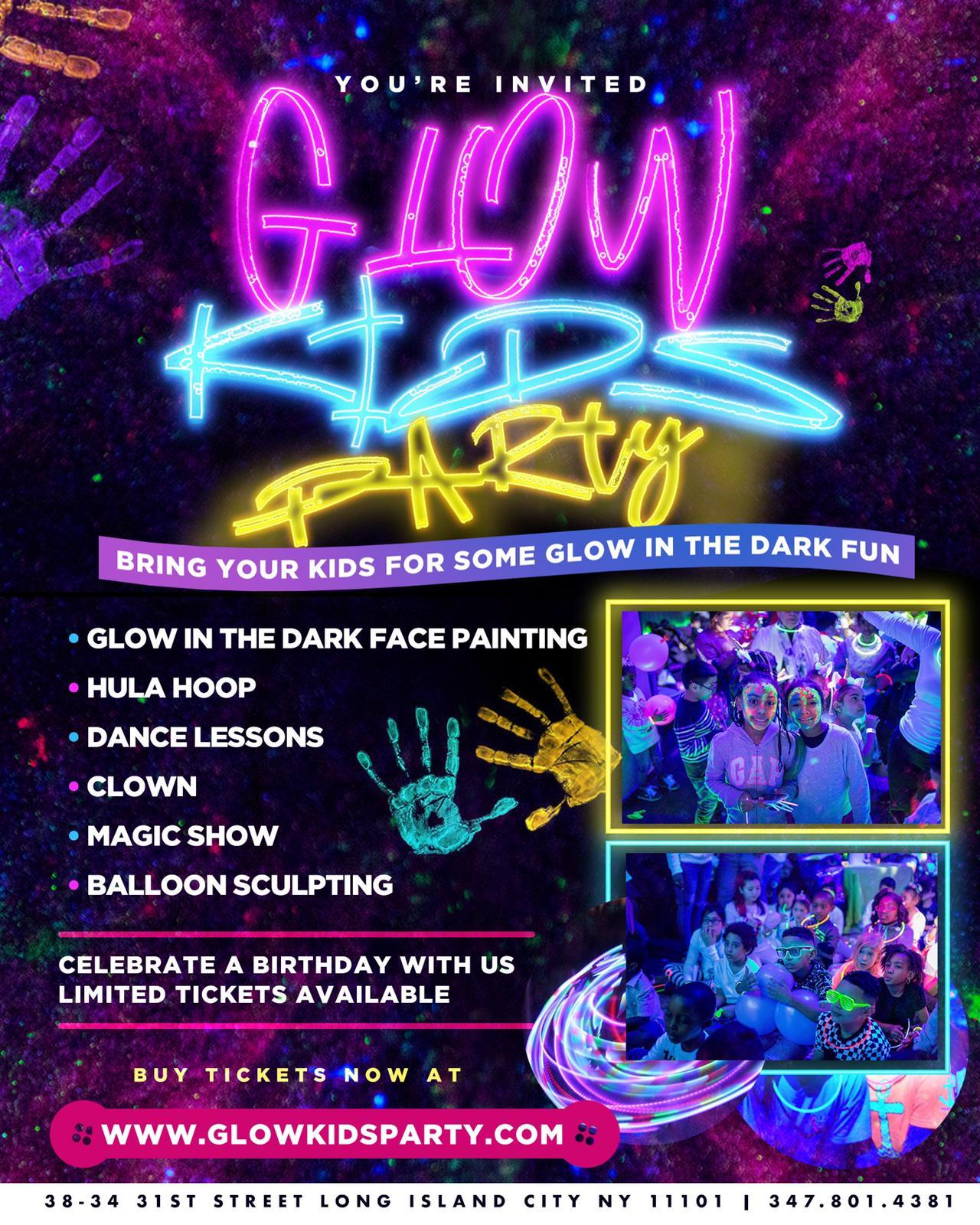 Glow Kids Party at Doha