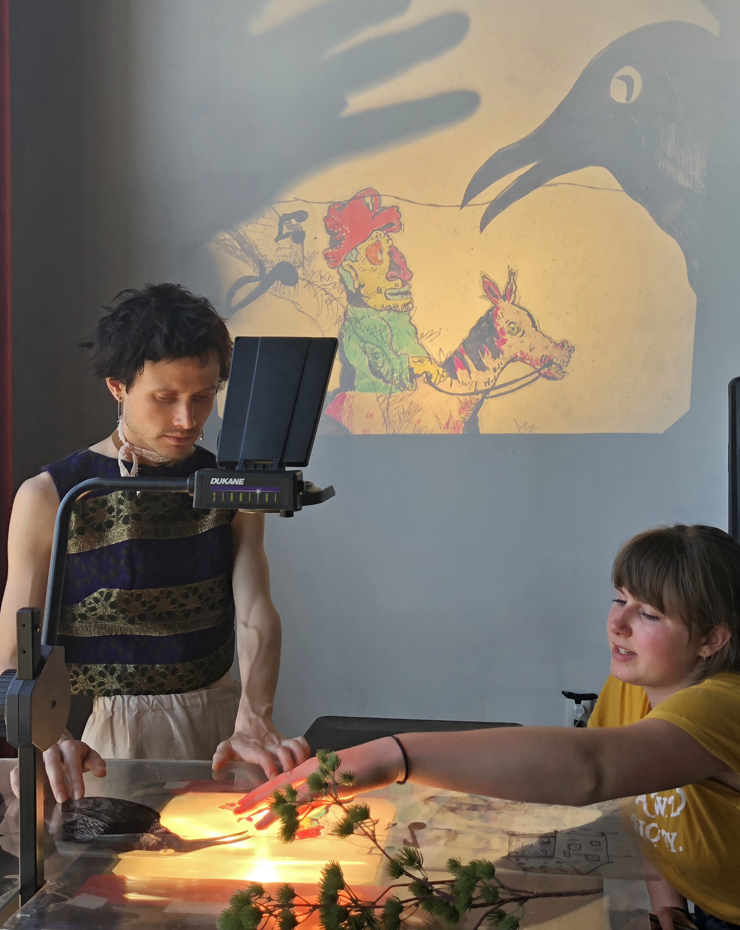 Puppetry Workshops: Shadow Journeys at Flushing Town Hall