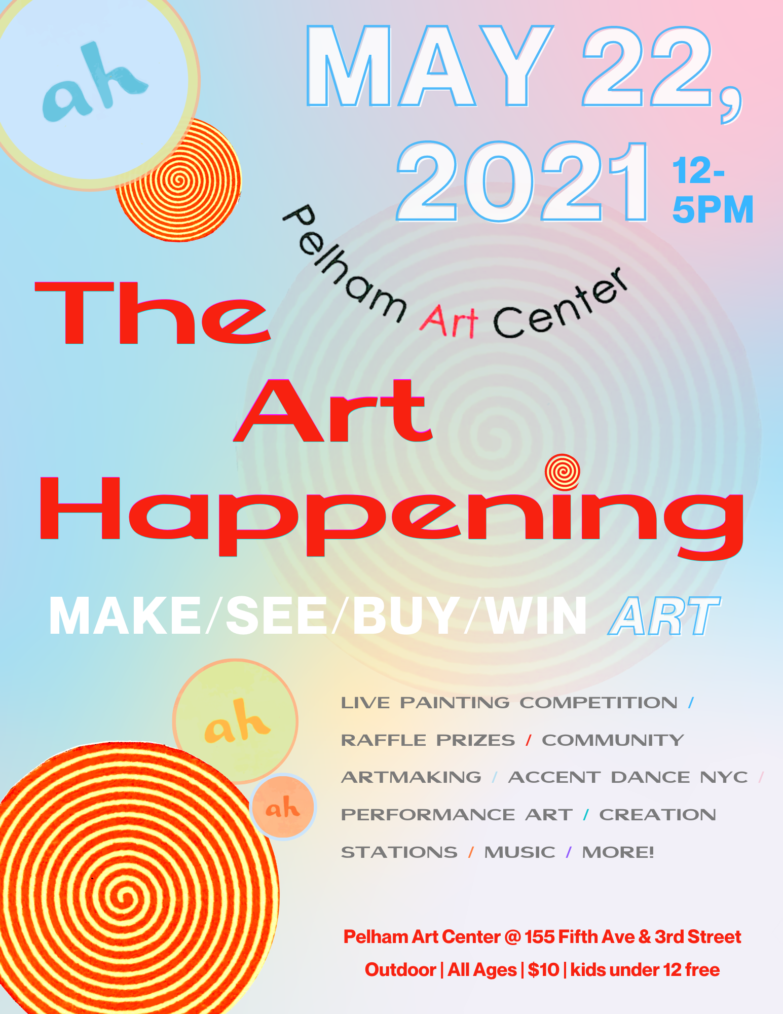 The Art Happening! at Pelham Art Center
