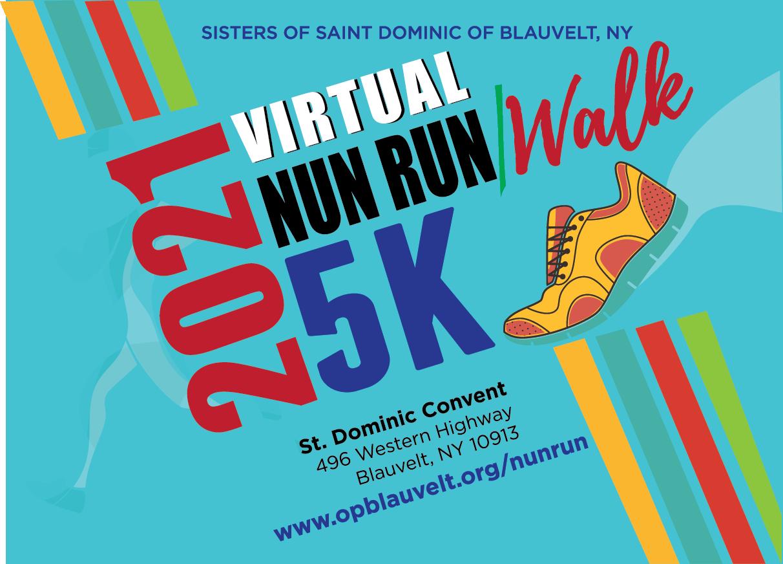 ONLINE 2021 Virtual Nun Run/Walk 5K at Sisters of Saint Dominic of Blauvelt