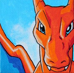 ONLINE VIRTUAL Pokemon Drawing Event! CHARIZARD! at Key to My Art