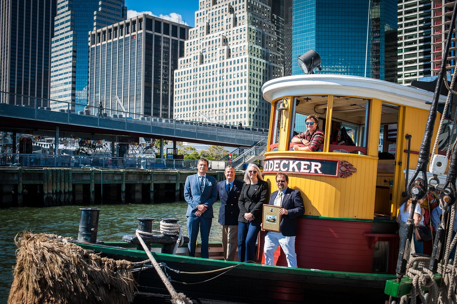 W.O. Decker Cruise at South Street Seaport Museum