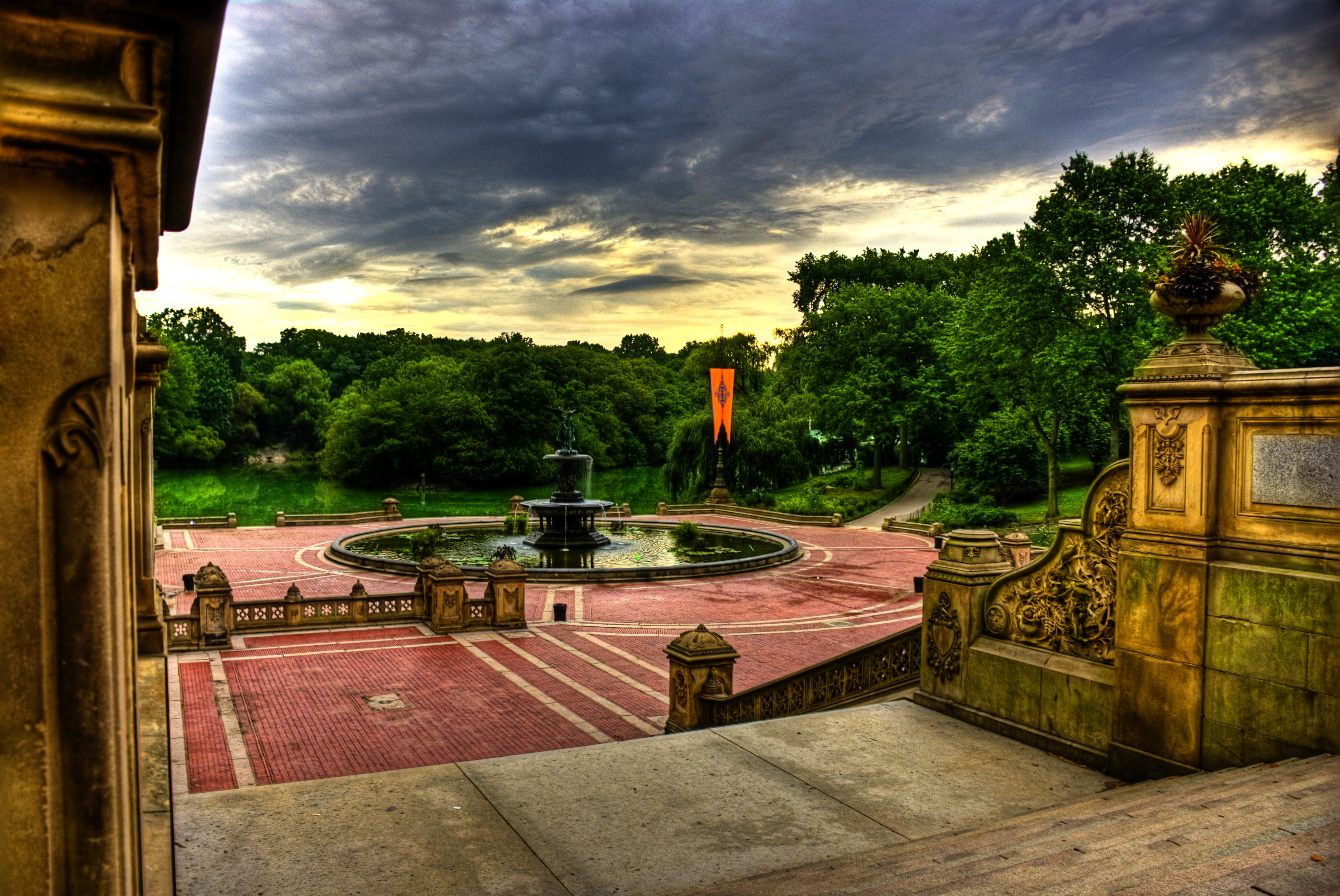 The Amazing Mother's Day Scavenger Hunt at Central Park - Bethesda Fountain
