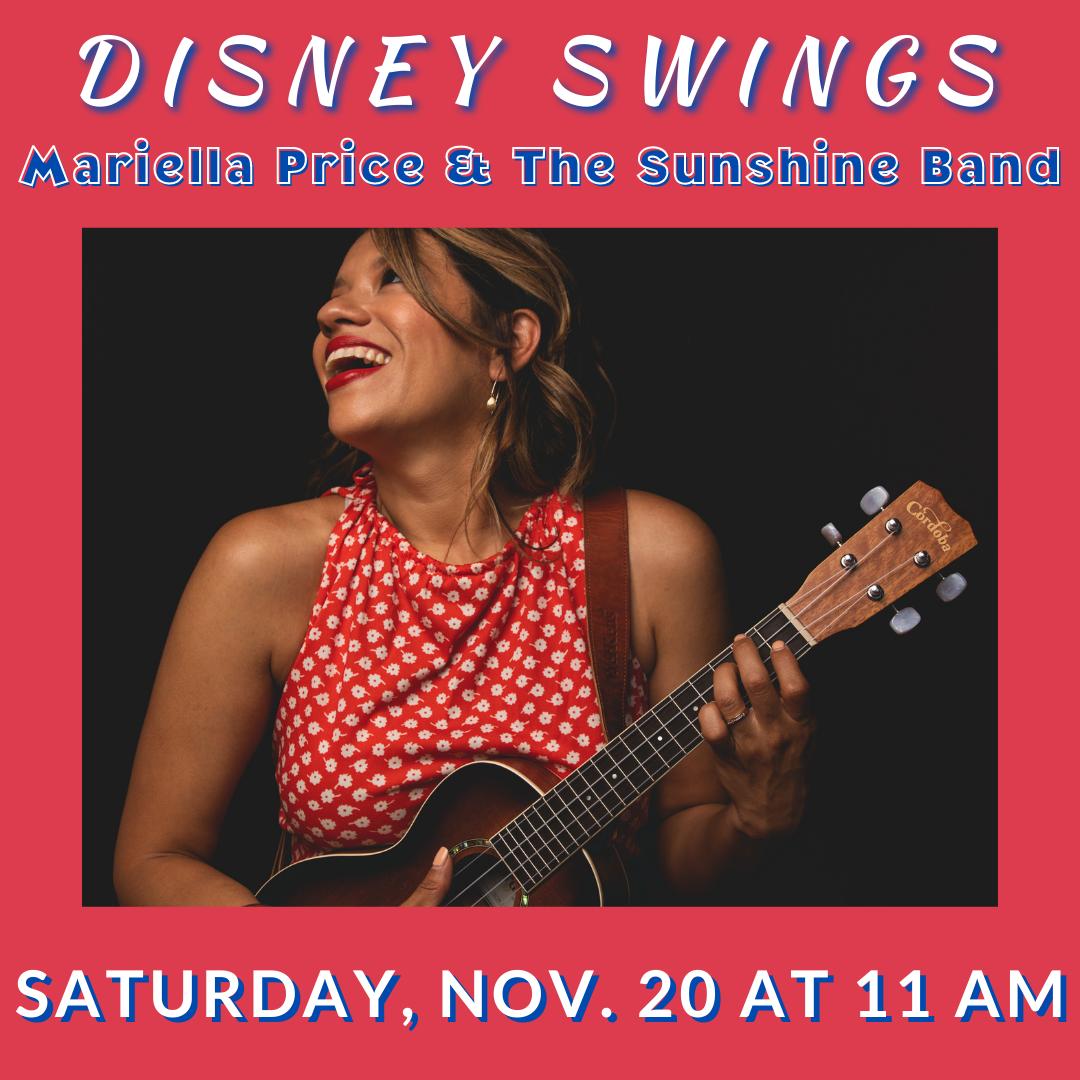Disney Swings with Mariella Price & The Sunshine Band at Landmark on Main Street